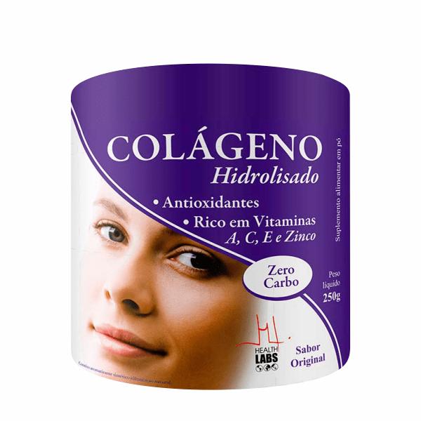 Colágeno Hidrolisado - 250g - Health Labs