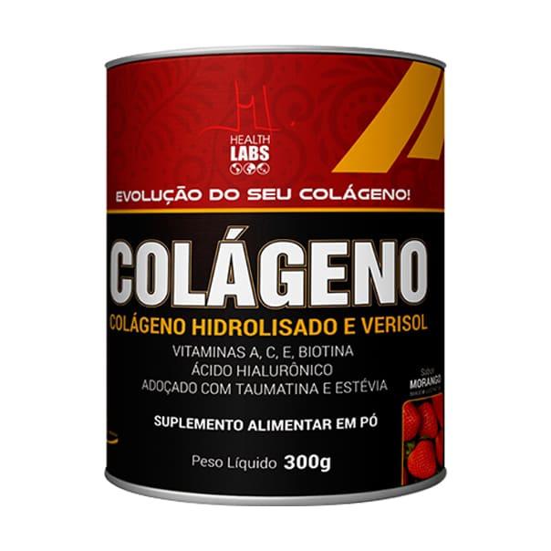 Colágeno Hidrolisado e Verisol - 300g - Health Labs