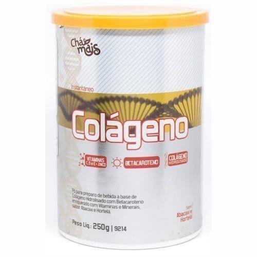Colágeno Instantâneo Hidrolisado com Betacaroteno - 250g - Chá Mais