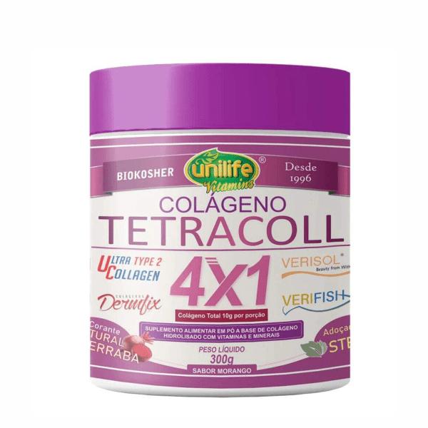 Colágeno Tetracool 4x1 - 300g - Unilife