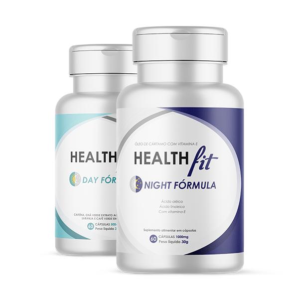 Combo Health Fit Day Fórmula e Health Fit Night Fórmula
