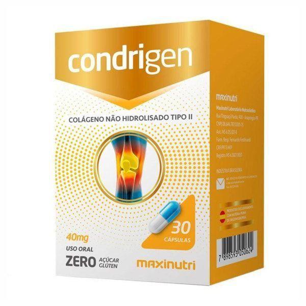 Condrigen - 60 Cápsulas - Maxinutri