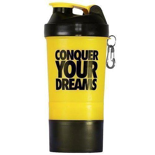 Coqueteleira Shaker c/ Divisória - 500ml - Iridium Labs