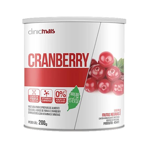 Cranberry Instantâneo Zero Açúcar - 200g - Chá Mais