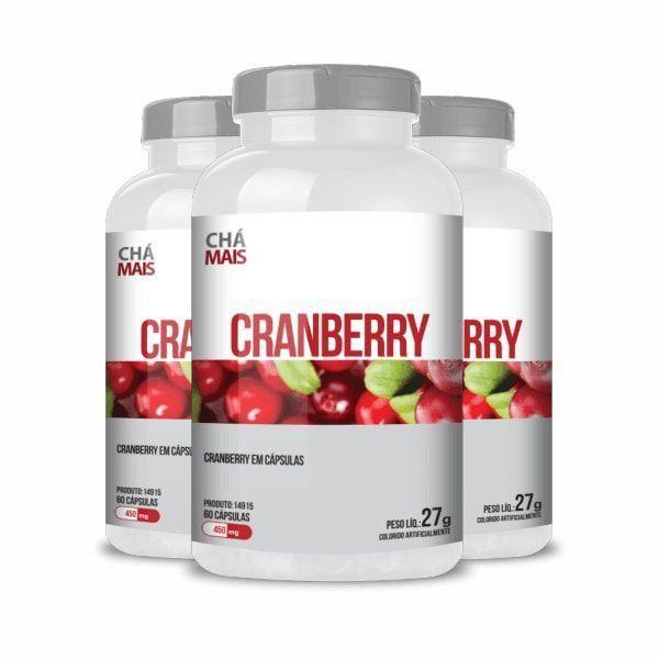 Cranberry - Promoção 3 Unidades - Chá Mais