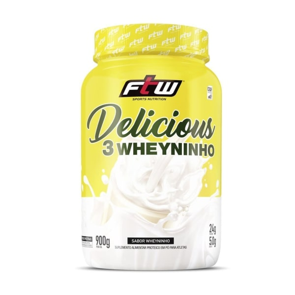 Delicious Whey - 900g - Fitoway