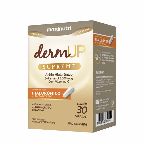 DermUp Supreme - 30 Cápsulas - Maxinutri