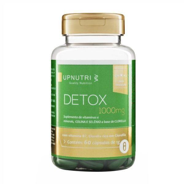 Detox - 60 Cápsulas - UpNutri