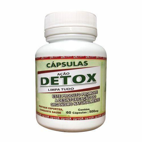 Detox Limpa Tudo - 60 Cápsulas - Vida Natural