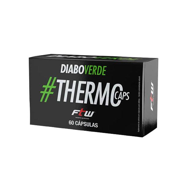 Diabo Verde #ThermoCaps - 60 Cápsulas  - Fitoway