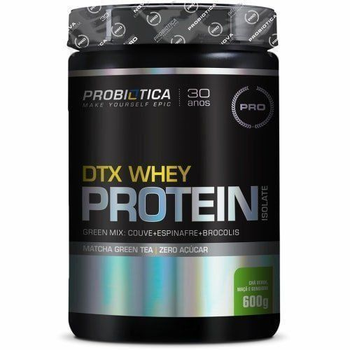 DTX Whey Protein Isolate - 600g - Probiótica