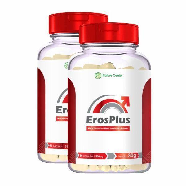 Eros Plus - Promoção 2 Unidades