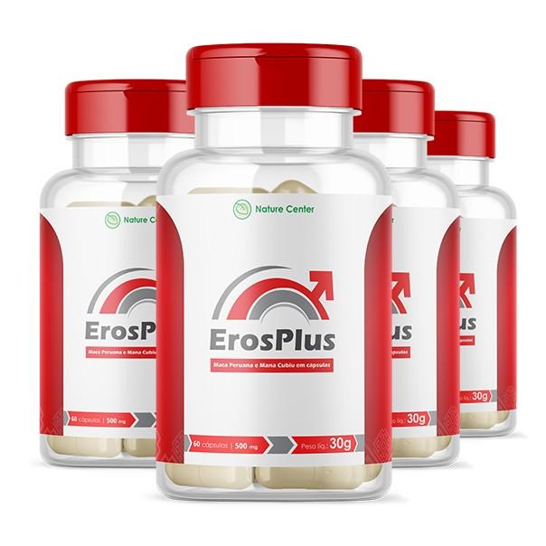 Eros Plus - Promoção 4 Unidades