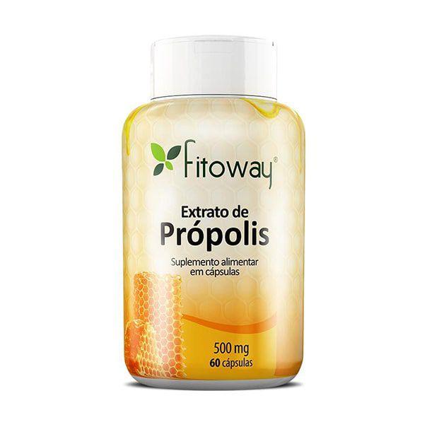 Extrato de Própolis - 60 Cápsulas - Fitoway
