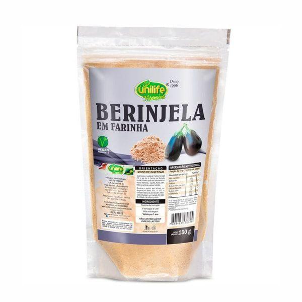 Farinha de Berinjela - 150g - Unilife