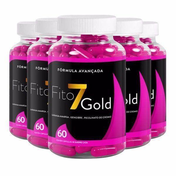 Fito 7 Gold - Promoção 5 Unidades