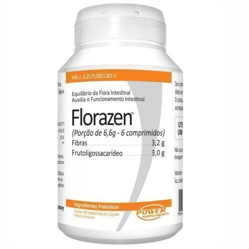 Florazen - 90 Comprimidos - Power Supplements