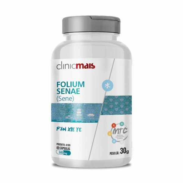 Folium Senae (Sene) - 60 Cápsulas - ClinicMais