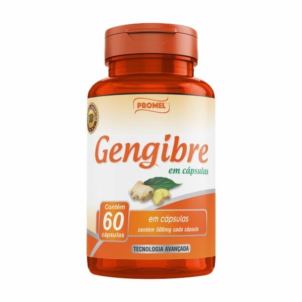 Gengibre - 60 Cápsulas - Promel