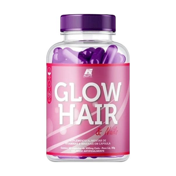 Glow Hair - 60 Cápsulas - AllFit Nutrition