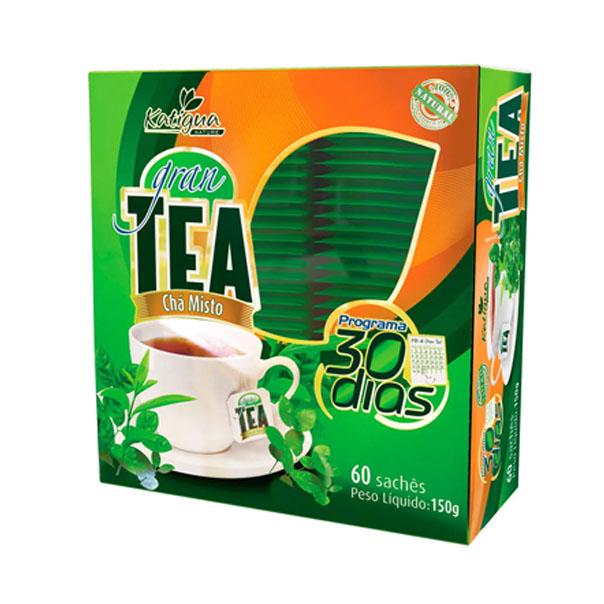 Gran Tea Plano 30 Dias - 60 Sachês - Katiguá