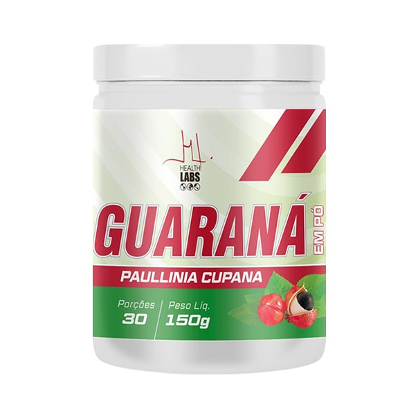 Guaraná em Pó - 150g - Health Labs