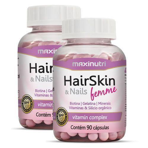 Hair Skin & Nails Femme Nutri-Hair Complex Promoção 2 Unidades Maxinutri