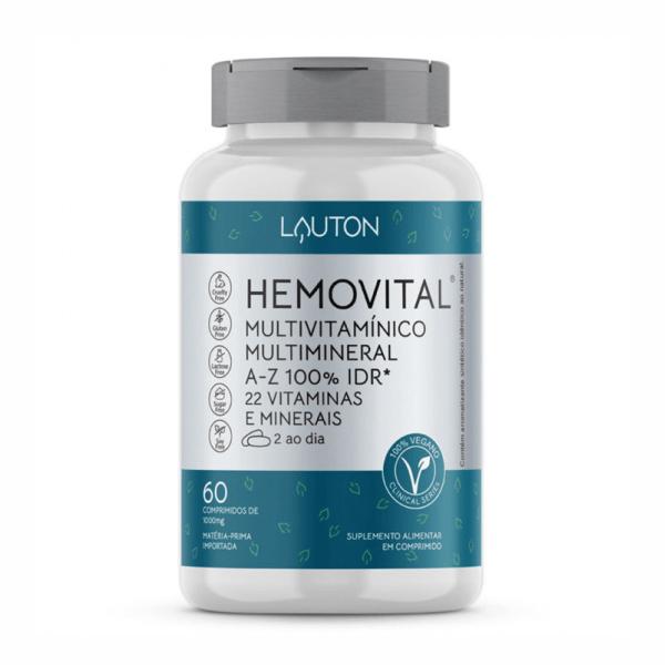 Hemovital - 60 Comprimidos - Lauton Nutrition