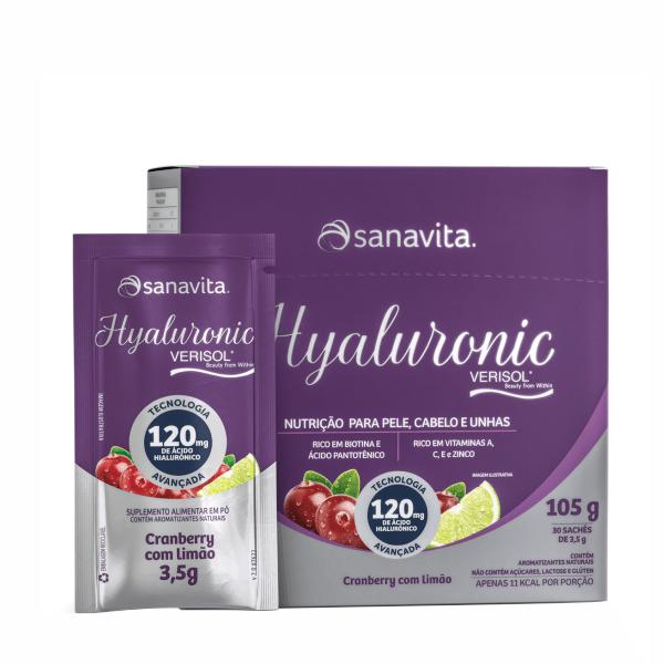 Hyaluronic Verisol - 30 Stickts - Sanavita