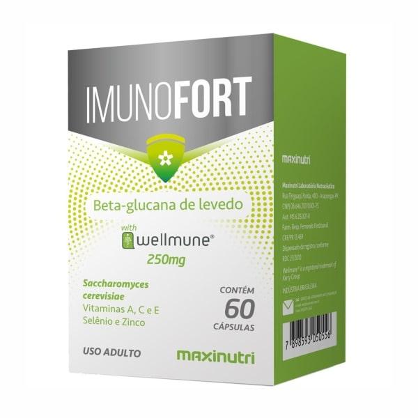 Imunofort - 60 Cápsulas - Maxinutri
