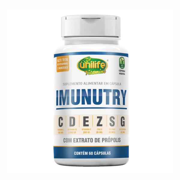Imunutry - 60 Cápsulas - Unilife