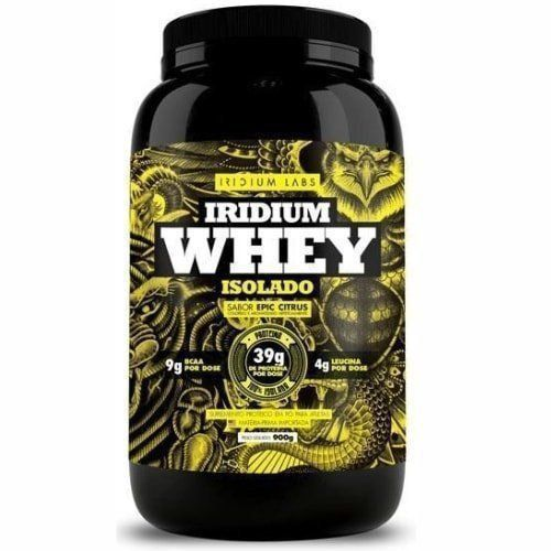 Iridium Whey Protein Isolado Sabor Epic Citrus - 900g - Iridium Labs
