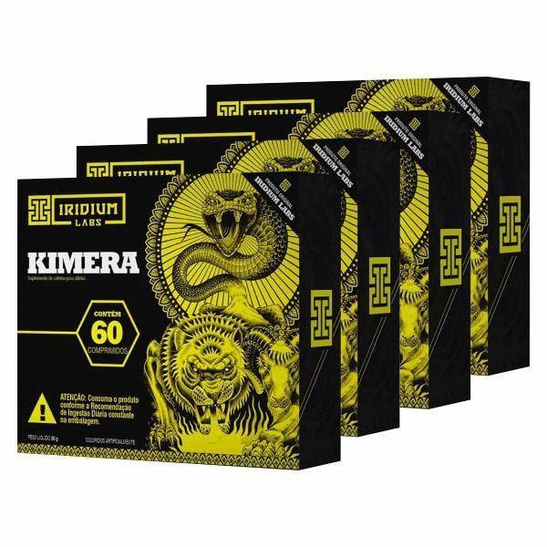 Kimera Thermo - Promoção 4 Unidades - Iridium Labs