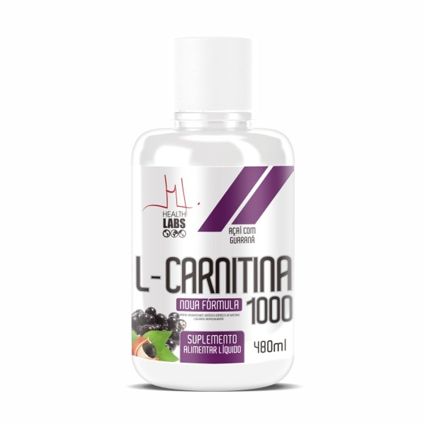 L-Carnitina 1000 - 480ml - Health Labs
