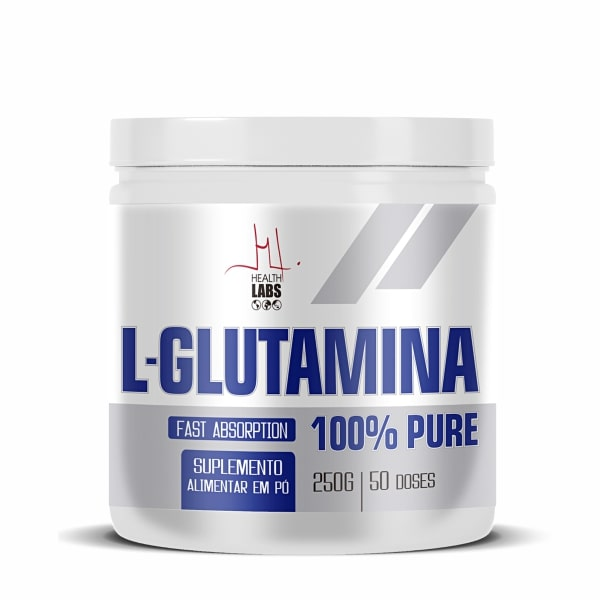 L-Glutamina - 250g - Health Labs