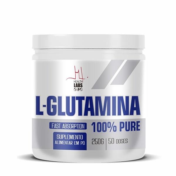 L-Glutamina - 250g - Health Labs