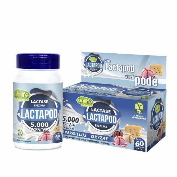 Lactapod - 60 Cápsulas - Unilife