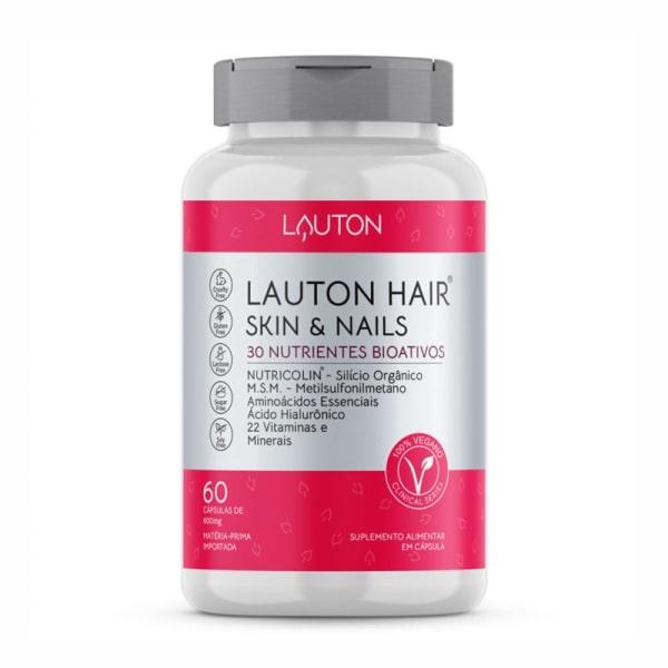 Lauton Hair®, Skin & Nails - 60 Cápsulas - Lauton Nutrition