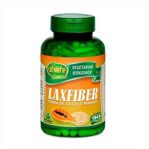 LaxFiber - 90 Cápsulas - Unilife