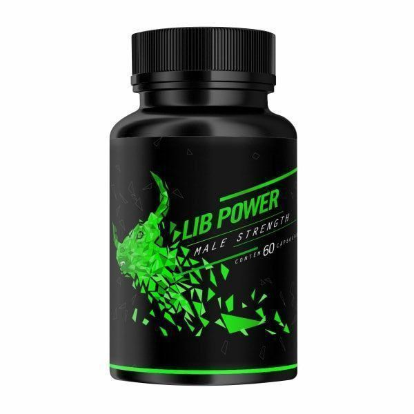 Lib Power Male Strength - 60 Cápsulas