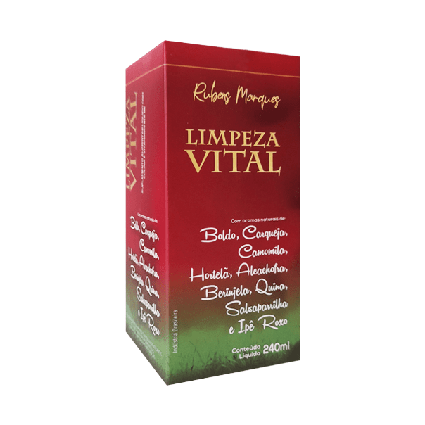 Limpeza Vital (Ling Zhi - Limpeza Chinesa) - 240ml - Supra Ervas