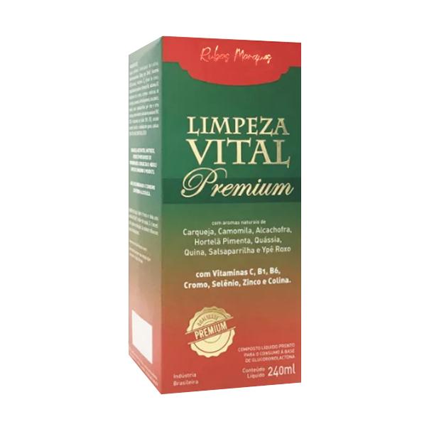 Limpeza Vital Premium - 240ml - Supra Ervas