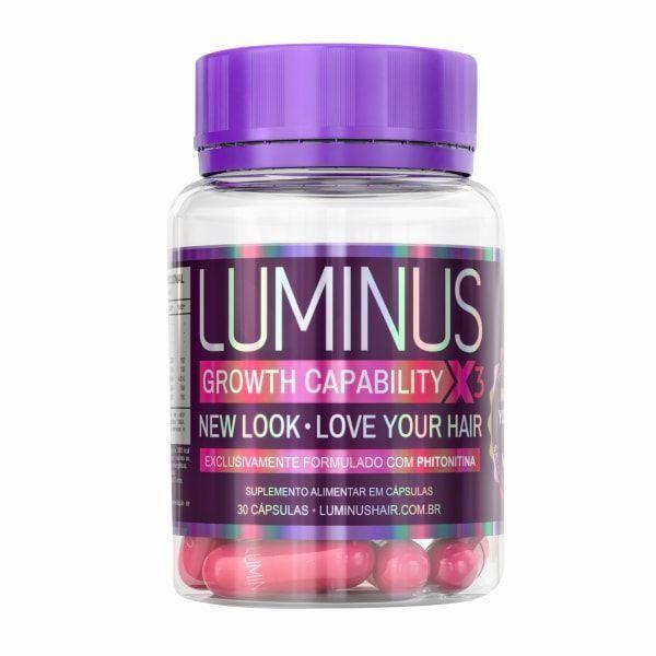Luminus Hair Original - 30 Cápsulas