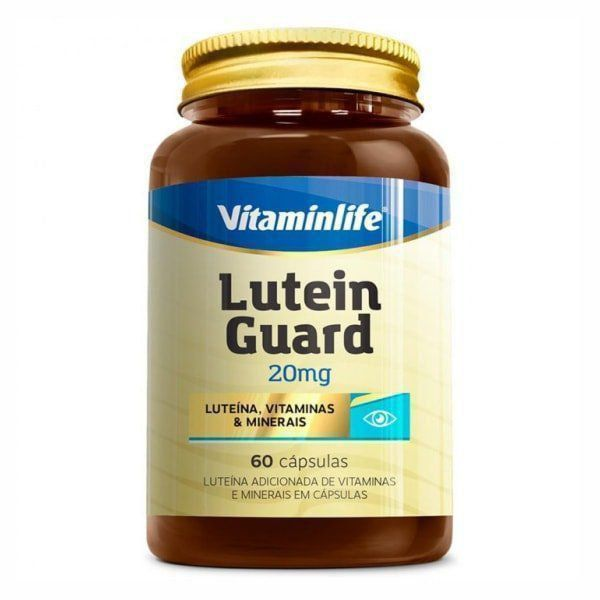 Lutein Guard 20mg - 60 Cápsulas - Vitaminlife
