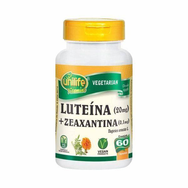 Luteína + Zeaxantina - 60 Cápsulas - Unilife