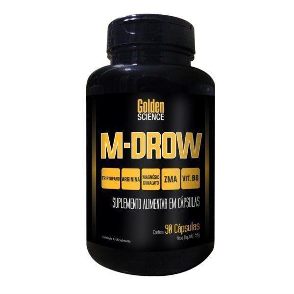 M-Drow - 90 Cápsulas - Intlab Golden Science