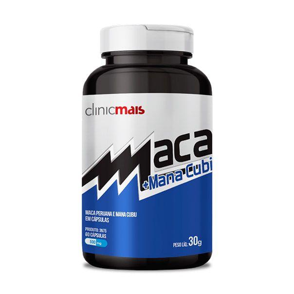 Maca + Mana Cubiu - 60 Cápsulas - ClinicMais