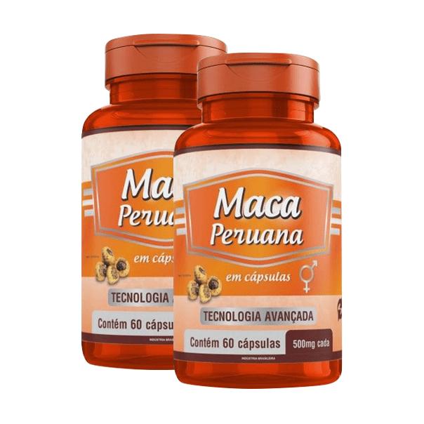 Maca Peruana - 60 Cápsulas - Promoção 2 Unidades - Promel