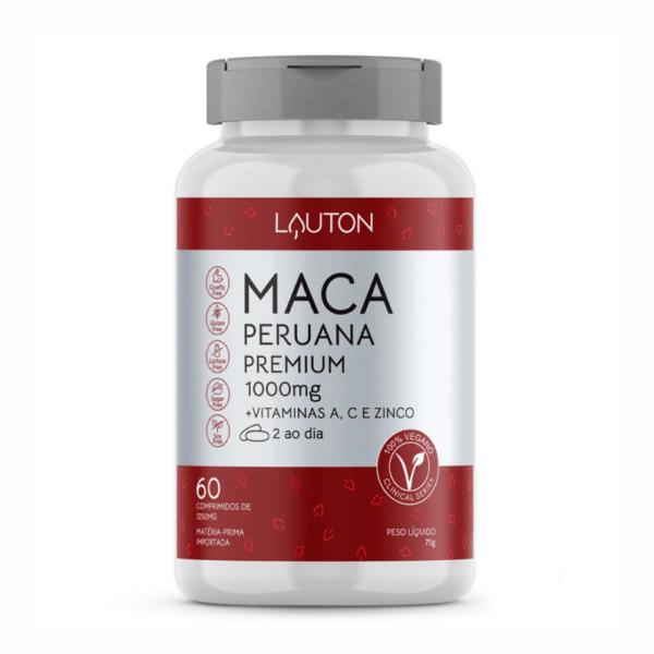 Maca Peruana Premium - 60 Comprimidos - Lauton Nutrition