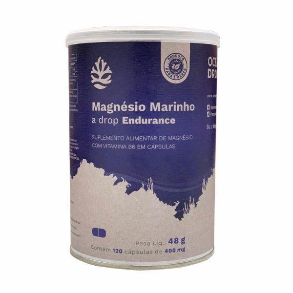 Magnésio Marinho - 120 Cápsulas - Ocean Drop